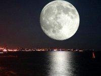 В ночь на понедельник москвичи смогу наблюдать суперлуние