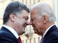 Байден и Порошенко договорились о дальнейшем «давлении на Россию»