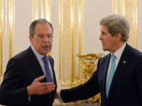 В Москве начались переговоры Сергея Лаврова и Джона Керри