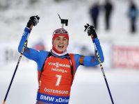 Антон Бабиков победил в гонке преследования в Эстерсунде