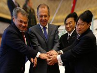 Встреча России и Японии 2+2