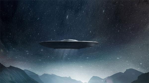 НЛО над Техасом излучал таинственный свет