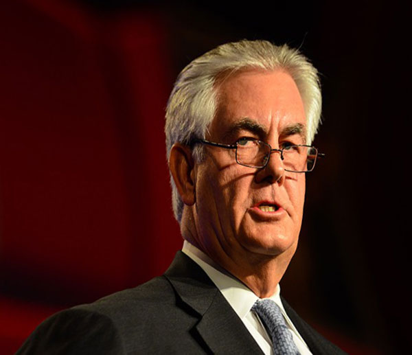 Тиллерсон не участвует  во встрече НАТО