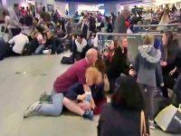 Панику на вокзале Нью-Йорка вызвал электрошокер