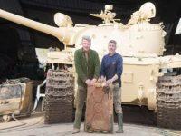 В советском танке британец нашел золото