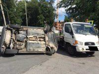 Эвакуатор «потерял» машину в Петербурге