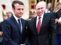 В Париже Путин и Макрон обсудили борьбу с терроризмом, геев и Украину