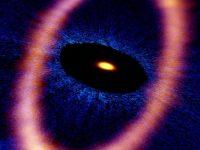 Ледяное кольцо обнаружил радиотелескоп ALMA