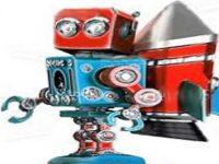 Робот с реактивным двигателем для изучения планет