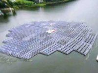 В Южной Корее строится плавающая солнечная электростанция