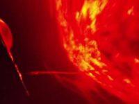 Заправки НЛО от Солнца