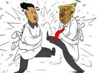 Ким и Трамр в «детском саду»