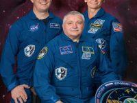 Космонавты с МКС приземлилось в Казахстане