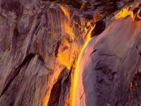 """Удивительный """"огненный"""" водопад Хорстейл"""