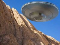 Огромный инопланетный корабль над Чили
