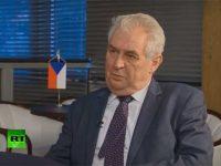 Президент Чехии поддержал «Северный поток - 2»