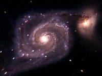 Древнейшая спиральная галактика