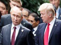 Путин и Трамп переговорили «на ногах»