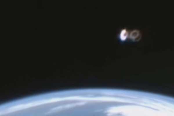 Что на снимках камеры МКС?