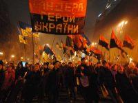 Киев: факельное шествие неонацистов