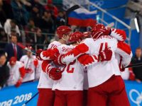 Российские хоккеисты в финале Олимпиады 2018