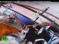 Россияне в открытом космосе