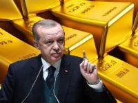 Турция вывезла своё золото из ФРС США