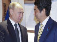 Путин предложил Японии вести расчеты в рублях
