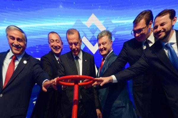 В Турции открыли Трансанатолийскиий газопровод