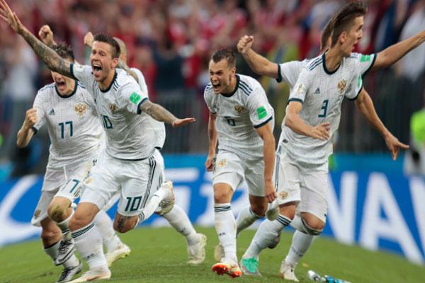 Сборная России в четвертьфинале!