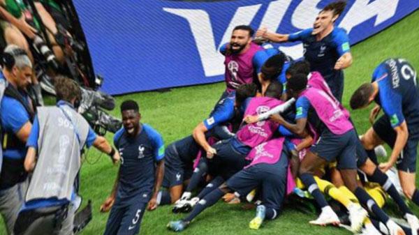 Сборная Франции завоевала золото ЧМ-2018 по футболу