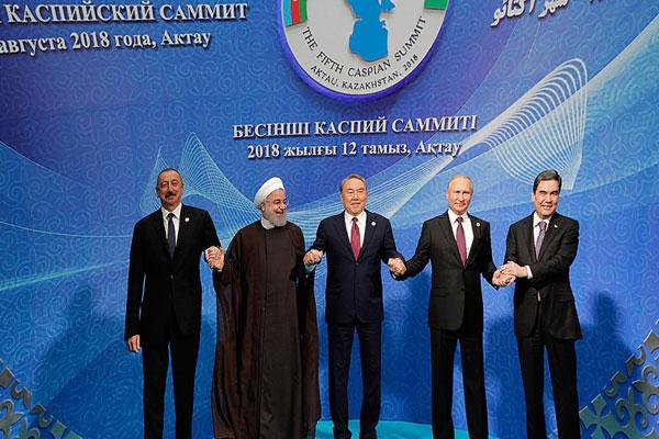 Как поделили Каспий